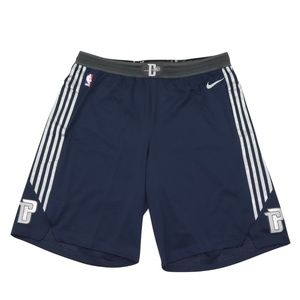 New Nike Detroit Pistons Team Issued Shorts Navy